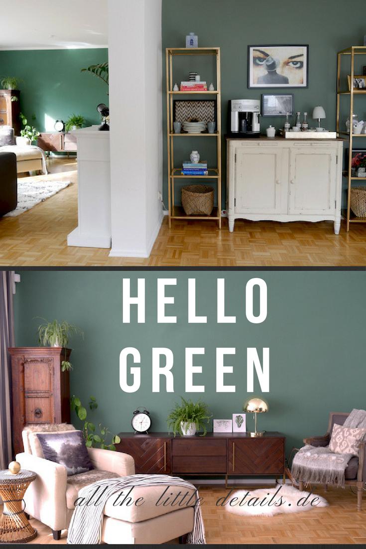 Green Walls, Feature Walls allthelittledetails.de