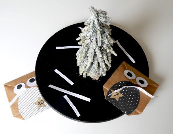 DIY Owl Advent Calendar alltheittledetails.de