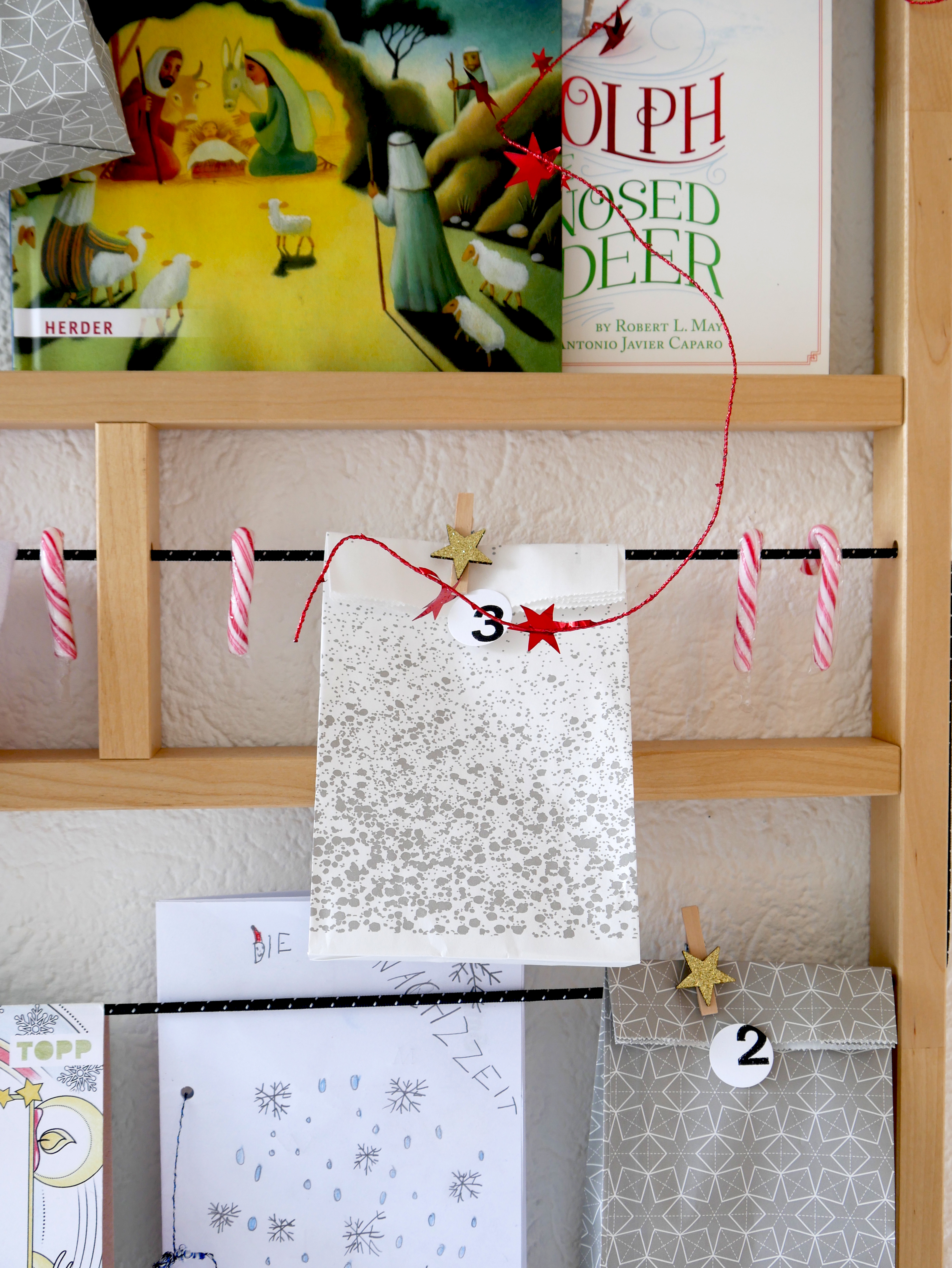 Acts of Kindness Advent Calendar Ypperlig wall shelf Ikea allthelittledetails.de